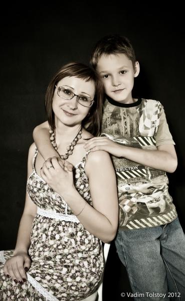 5371 семейный портрет..., Фотография Фотографа Толстой Вадим в Новосибирске