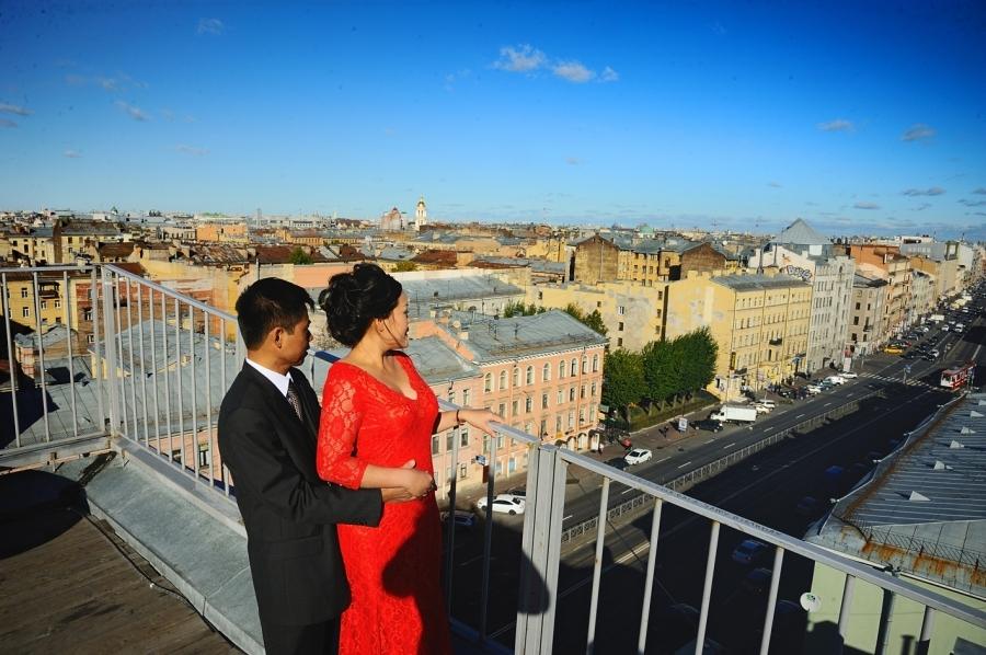 11082 Свадебная фотосессия..., Фотография Фотографа Oksana Kraft в Санкт-Петербурге