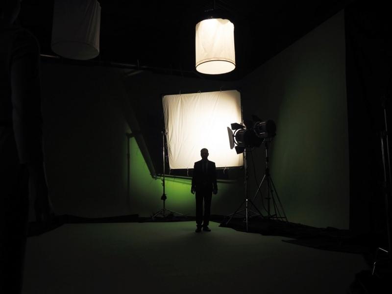 """11646 Фотография Фотостудии Хромакей - зеленая и белая циклорама. """"Movie Hall""""- открытое съемочное пространство.  в Санкт-Петербурге"""
