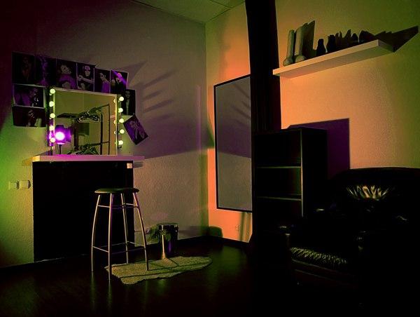 36 Гримерка студии..., Фотография Фотостудии Martinson studio в Москве