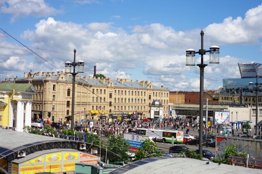 329 Вид с балкона..., Фотография Фотостудии Soul-X-Ray в Санкт-Петербурге