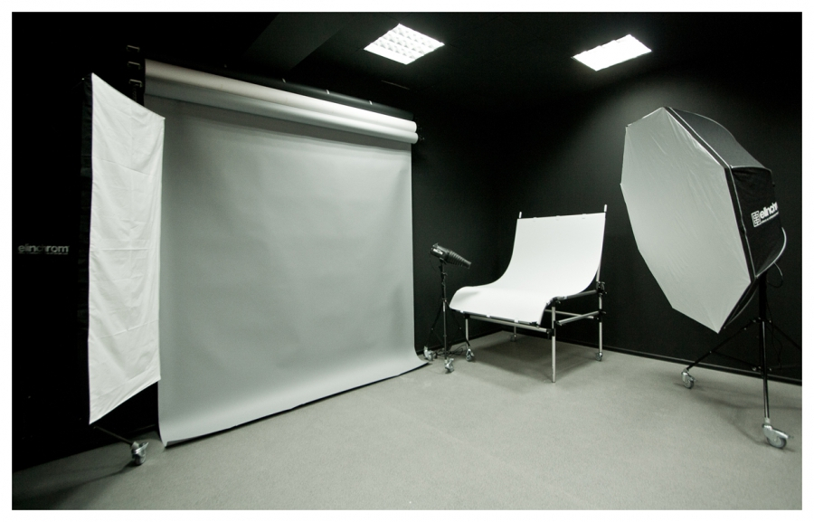 646 Черная студия..., Фотография Фотостудии ИМИДЖ в Краснодаре
