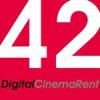 42, Digital Cinema Rent