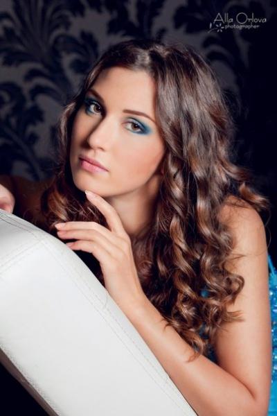 4058 макияж и прическа Ел..., Фотография Стилиста Розановская Елена в Санкт-Петербурге